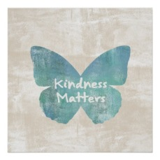 kindness matters butterfly