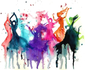 watercolor-dancers